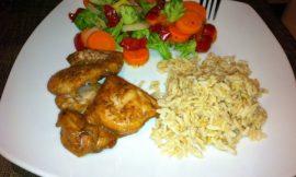 Orange Cumin Chicken and Rice