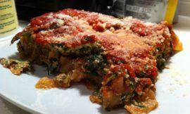 Vegetarian Spinach Lasagna