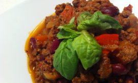 Beef & Bean Chilli Verde
