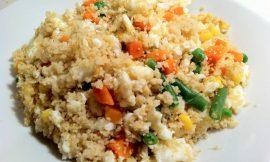 Couscous Egg and Veggie Scramble