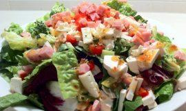 Lazy Ham Steak Salad