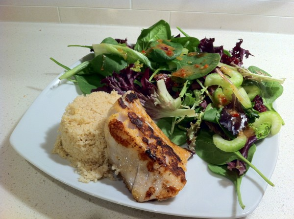 Read more about the article Snapper, Couscous and Salad Dinner