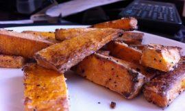 Butternut Squash Crispy Fries
