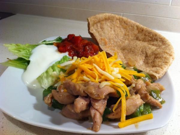 Read more about the article Chicken Fajita Pita
