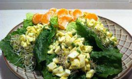 Dill-icous Egg White Lettuce Cups