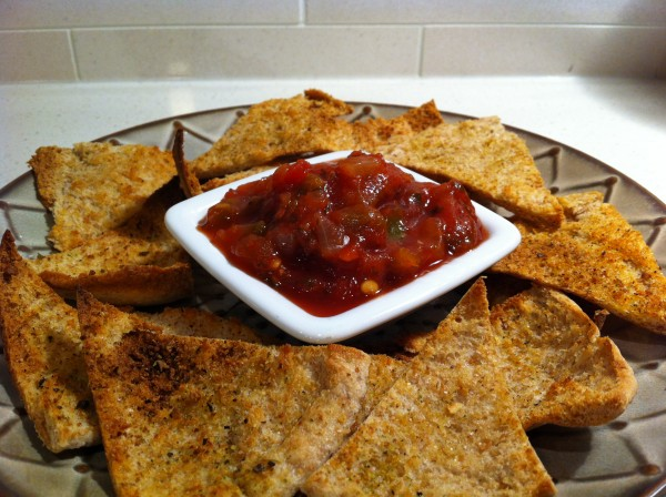 Read more about the article Healthy Homemade Pita Chips