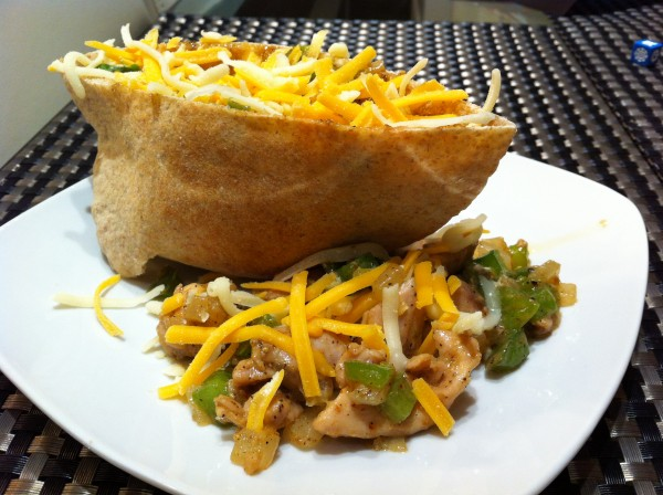 Hubby&#039;s Chicken Fajita Pita