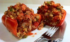Super Veggie Stuffed Peppers