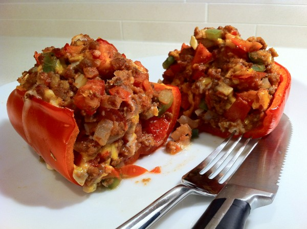 Super Veggie Stuffed Peppers