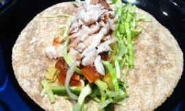 Snapper Fish Burritos