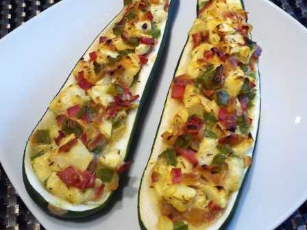 Read more about the article Stuffed Zucchini Boats