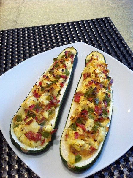 Stuffed Zuchinini
