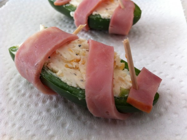 Jalapeno Poppers before coating