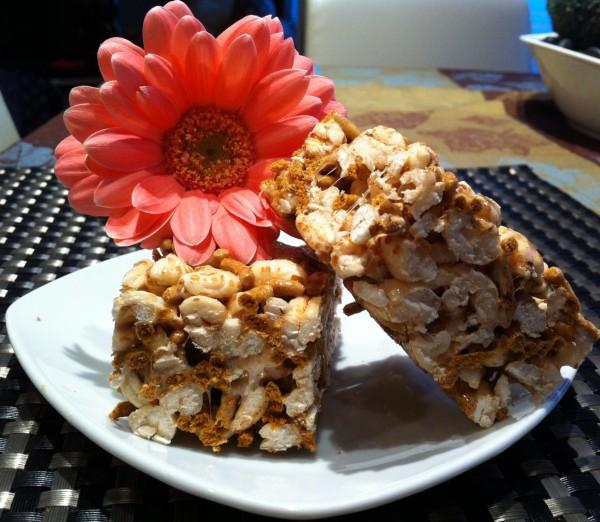 Peanut Butter Puff Treats » Crazy Girl Eats