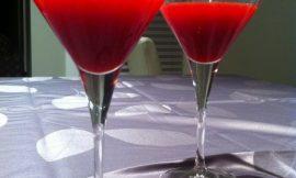 Fresh Cranberry Martini