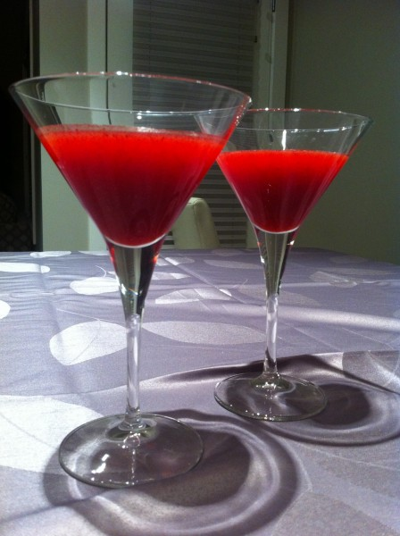 Read more about the article Fresh Cranberry Martini
