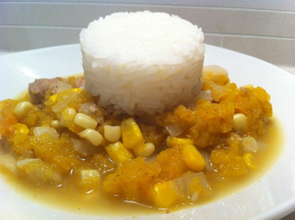 Read more about the article Butternut Squash and Chicken Stew