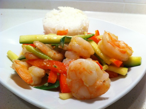 Read more about the article Vegetable Curry Shrimp Stir Fry
