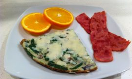 Spinach and Cheese Frittata