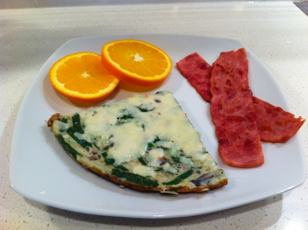 Read more about the article Spinach and Cheese Frittata