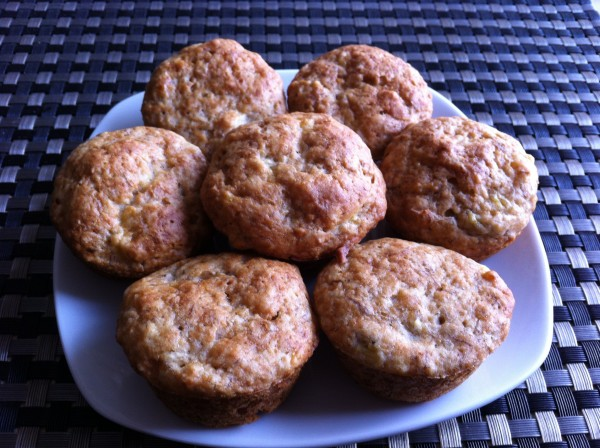 You are currently viewing Low Fat Banana Muffins