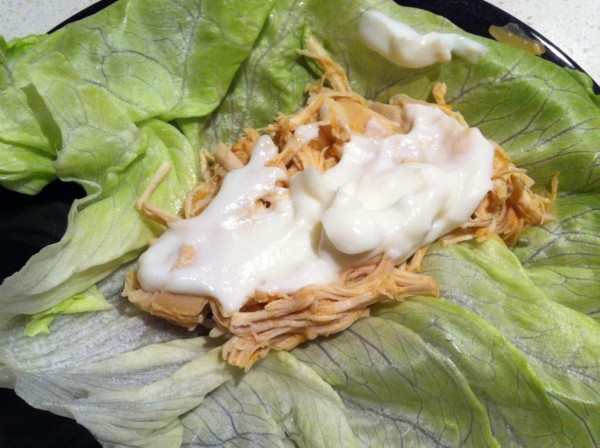 Read more about the article Buffalo Chicken Lettuce Wraps