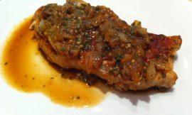 Honey Dijon Pork Chops
