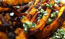 Baked Garlic Fries with Truffle Oil