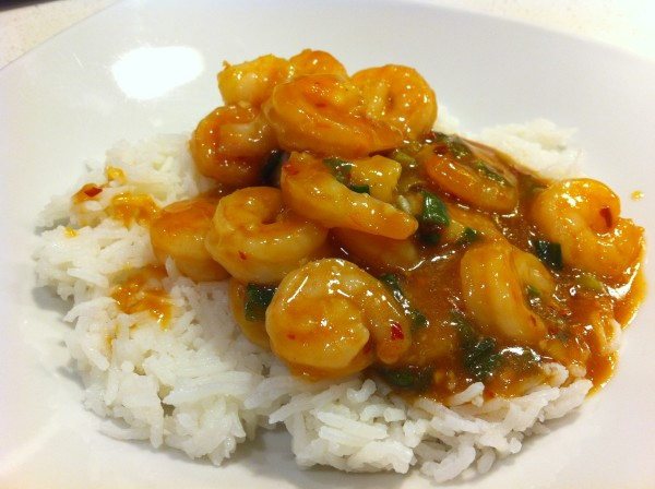 Szechwan Sweet and Spicy Shrimp