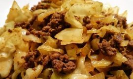 Curry Beef and Cabbage