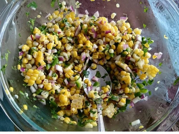 Corn Jalapeno Salad