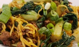 Beef Chow Mien Noodles